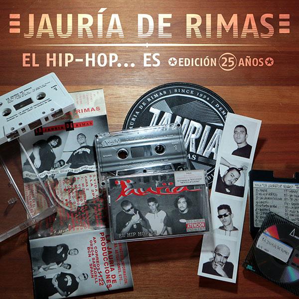 El hip-hop es portada cover